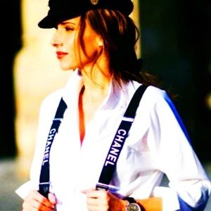 Chanel VIP Suspenders